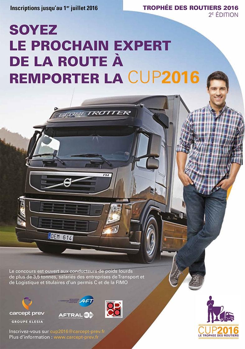Trophée des Routiers 2016