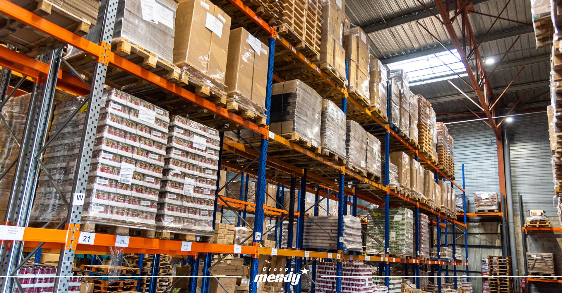 Logistique : stockage de marchandises dans le Sud-Ouest
