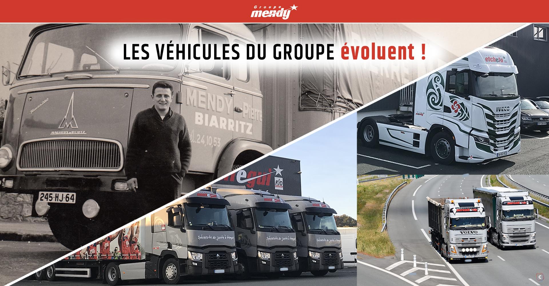1950 – 2021: l'évolution de nos véhicules pour le transport